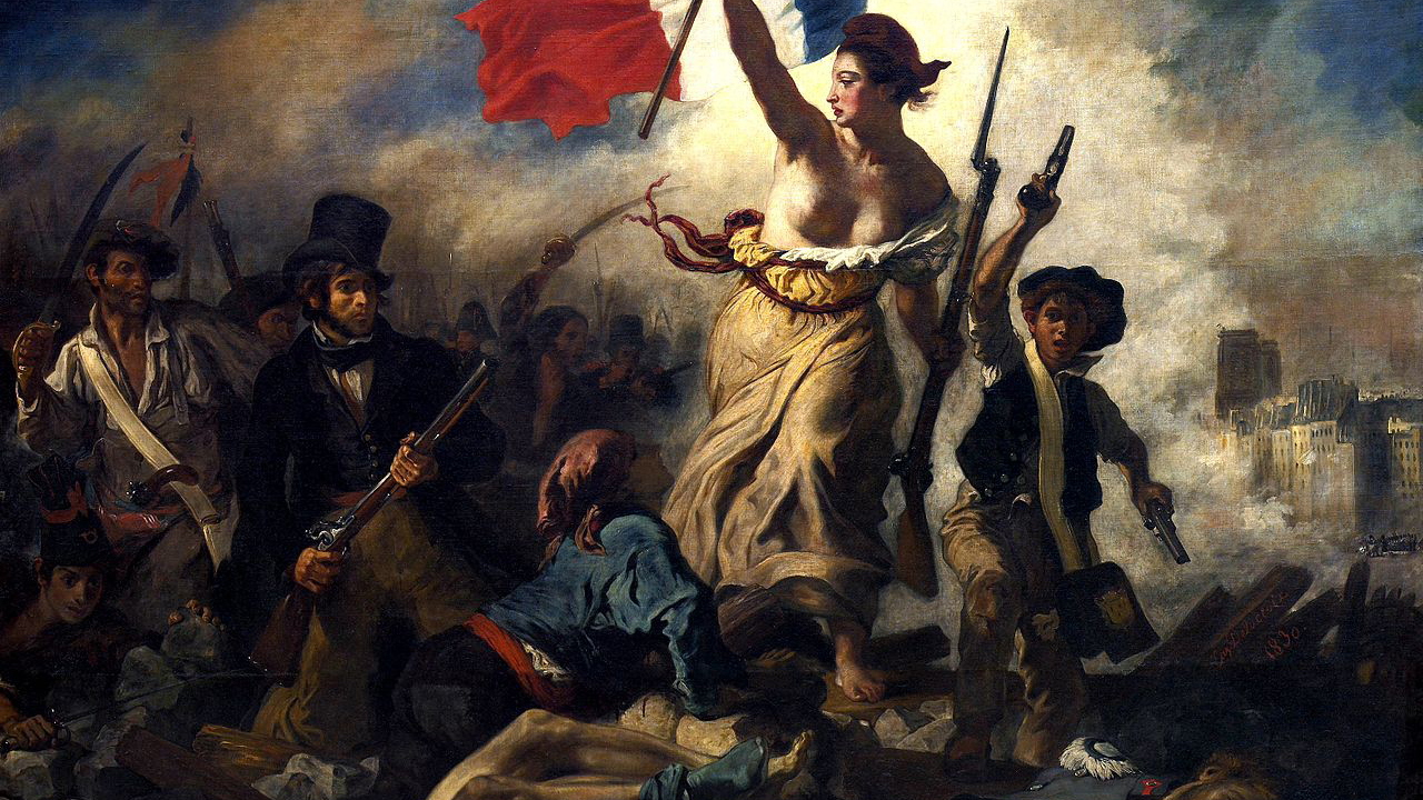 Liberty Leading the People (1830), Louvre-Lens, Paris.